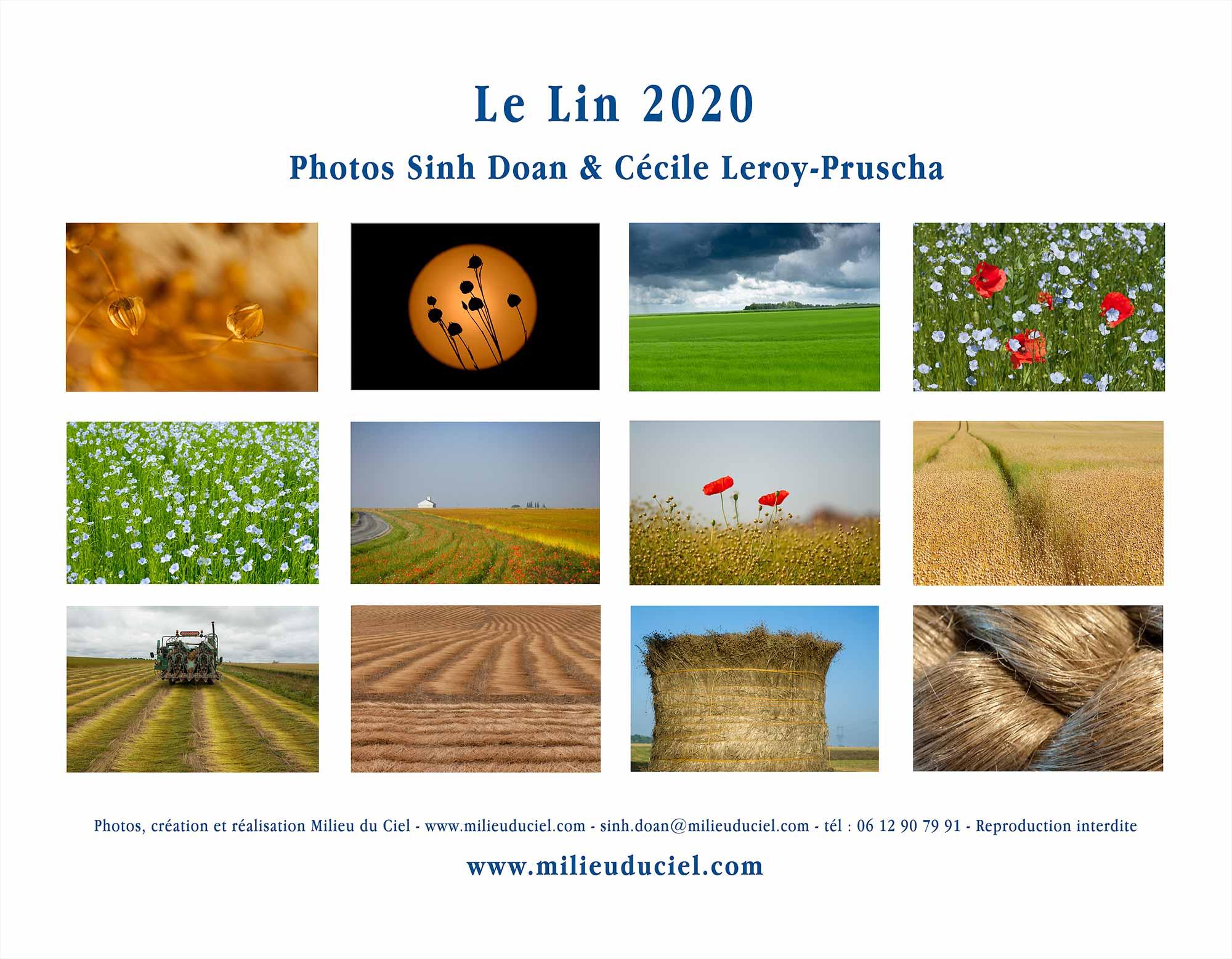 Calendrier lin 2020