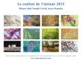 Calendrier milieuduciel fleurs 2019