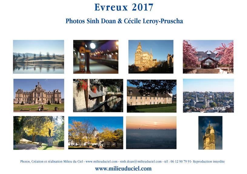 milieuduciel calendrier Evreux 2017 - Dernière page de couverture