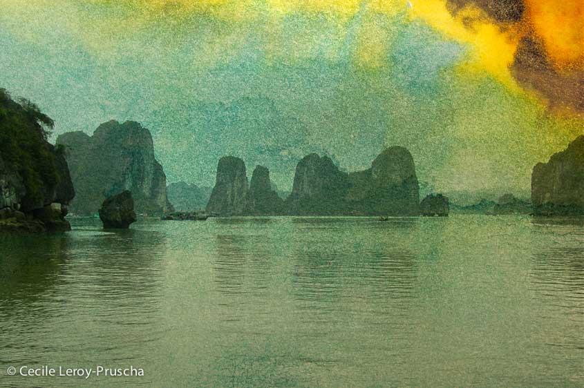 La baie d'Ha Long