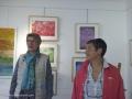 Vernissage de l'exposition la couleur enchantée