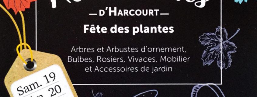 Les automnales d'Harcourt, fête des plantes (Eure)