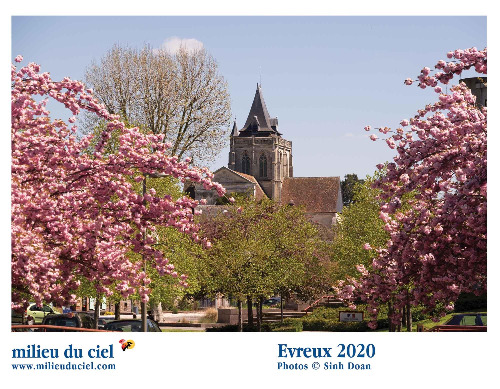 Calendrier Evreux 2020