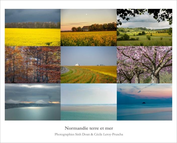 Normandie terre et mer - Exposition Milieu du Ciel